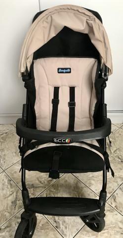 Carrinho de Bebê + Bebê Conforto Burigotto