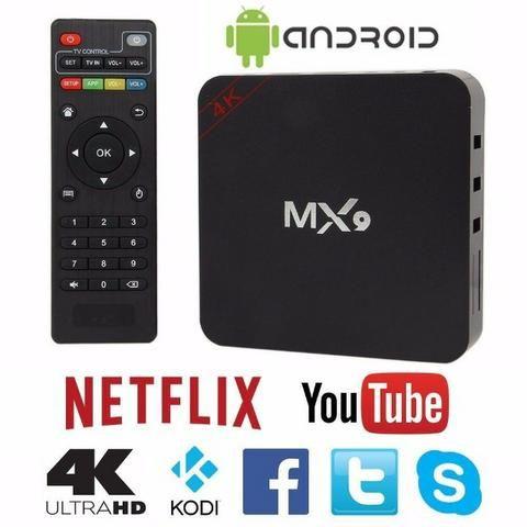 Tv box novo 1 ram 8gb entrega grátis agora mesmo