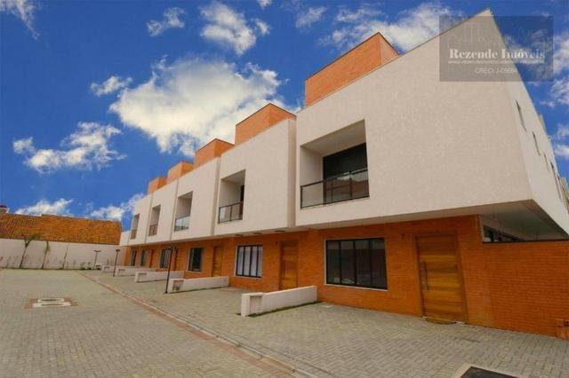 SO0394 - Sobrado com 3 dormitórios à venda, 145 m² por R$ 595.000 - Atuba - Curitiba/PR