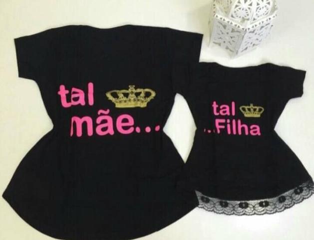 a005bc8f4 T-Shirts Tal Mãe Tal Filha - Roupas e calçados - Ingleses do Rio ...