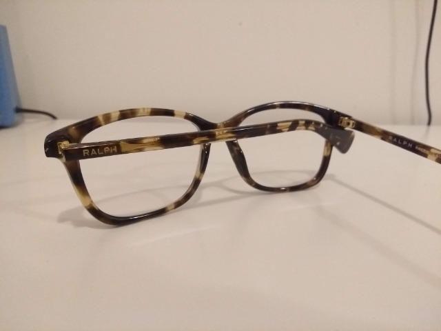 d389c0ee9 Ralph Lauren (original) armação para óculos de grau. Tartaruga - Foto 4