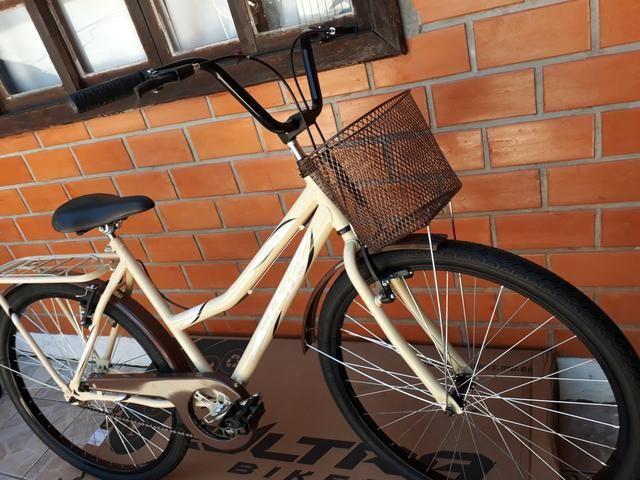 Promoção bicicleta ultra bike aro 26 modelo retrô