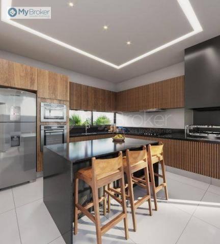 Casa com 3 dormitórios à venda, 150 m² por R$ 529.000,00 - Alvorada - Senador Canedo/GO - Foto 3