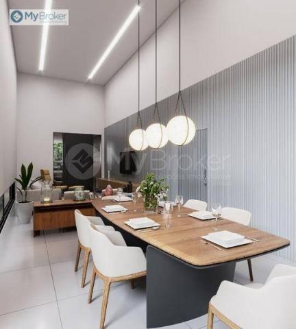 Casa com 3 dormitórios à venda, 150 m² por R$ 529.000,00 - Alvorada - Senador Canedo/GO - Foto 4