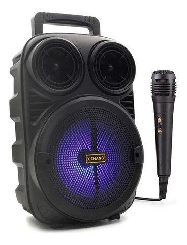 Caixa de Som Kamiso com microfone  - Foto 2