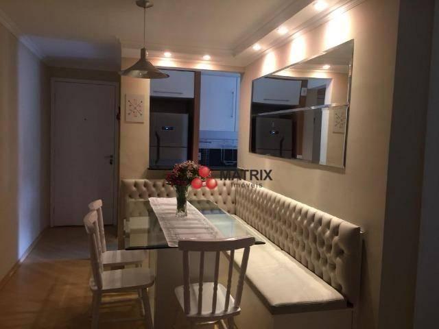 Apartamento com 3 dormitórios à venda, 63 m² por R$ 355.100,00 - Cristo Rei - Curitiba/PR - Foto 3