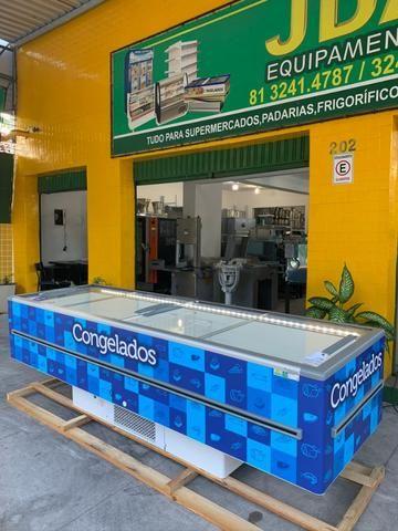 Ilha para supermercados- 2 anos garantia- supermercado, padaria - freezer 3,00m  - Foto 6