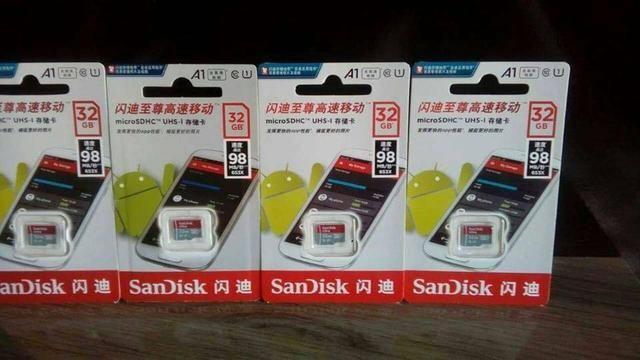 Cartão de memória SanDisk 32gb Classe10ultra A1!! Original! - Foto 2