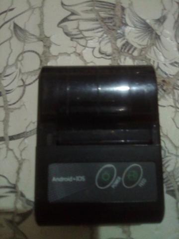 Impressora térmica via Bluetooth