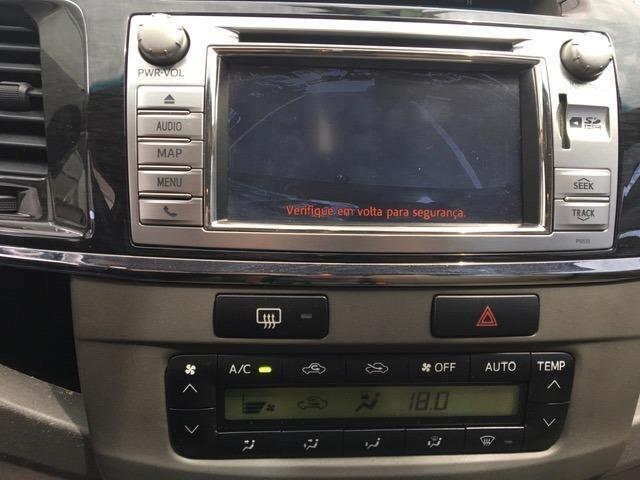 Hilux sw4 srv 3.0 diesel 2013 automatica 7 lugares - Foto 13
