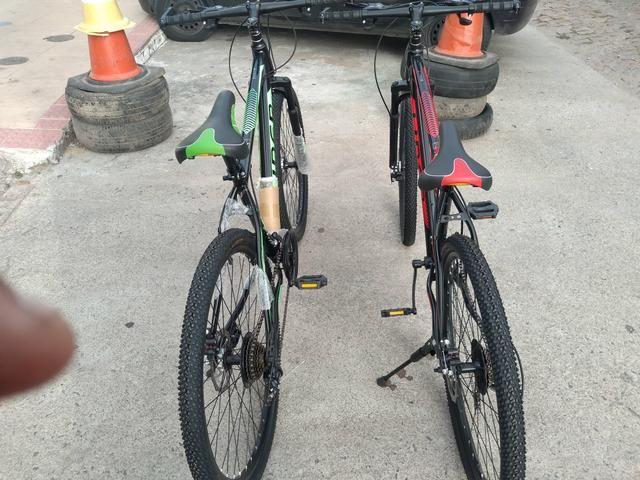 Promoção bike aro 26 zero completa - Foto 6