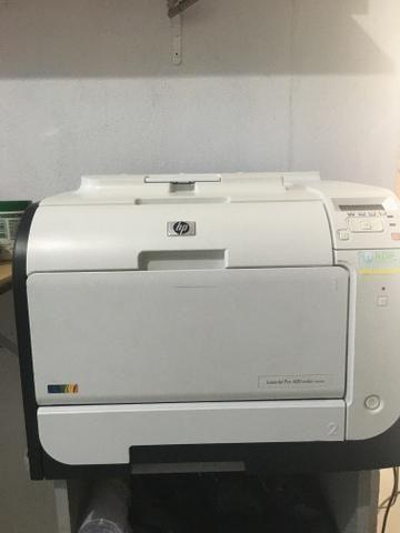 Impressora laser colorida Hp M451dw pro400