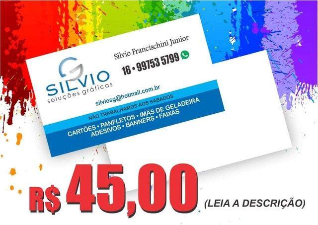 Cartão de Visita - R$ 45,00 (leia a descrição)