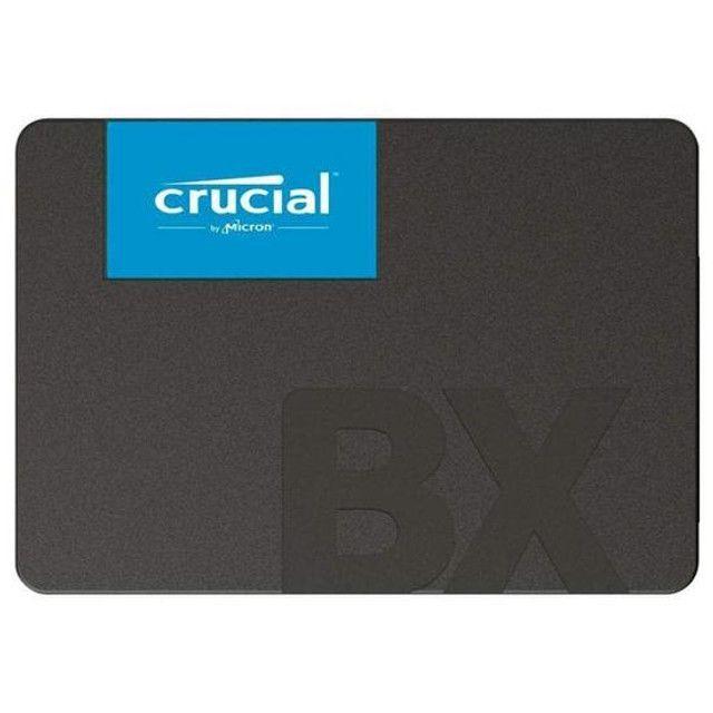 SSD de 480GB Crucial BX500 CT480BX500SSD1 540MB/s de Leitura -Novo Lacrado!