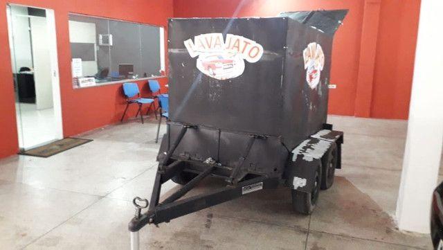 Vendo Lava Jato Movel - aceito troca em moto(cg, biz, pcx) e carro(mais novo) - Foto 2