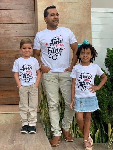 Camisa Dia dos pais Entrega grátis  - Foto 2
