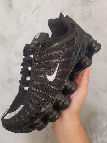 Nike Shox 12 molas refletivo  - Foto 2