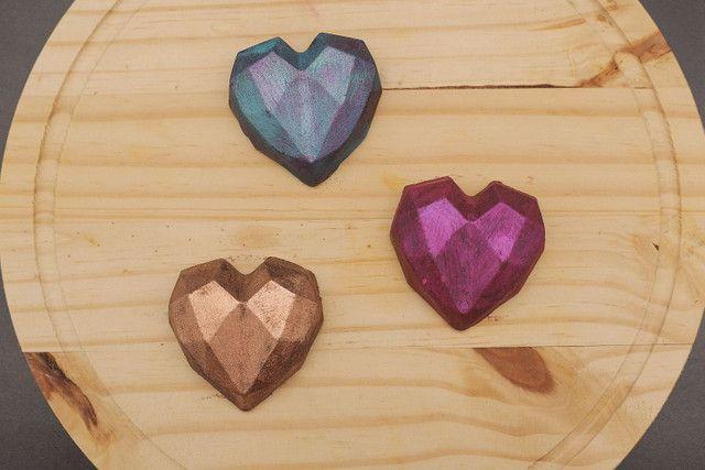 Corações de chocolate - Foto 2