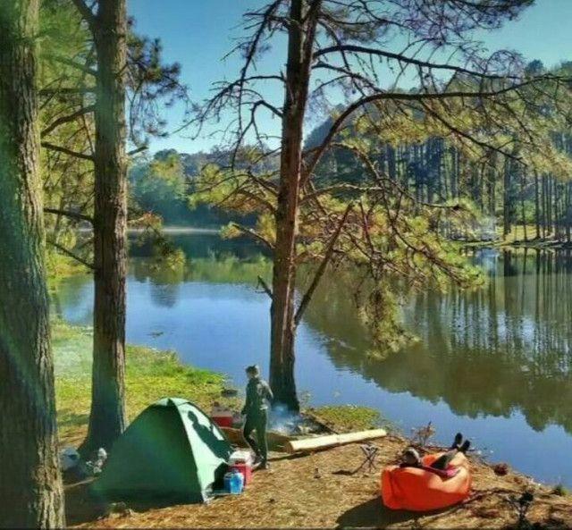 Sofa inflável camping/piscina/lazer - Foto 6