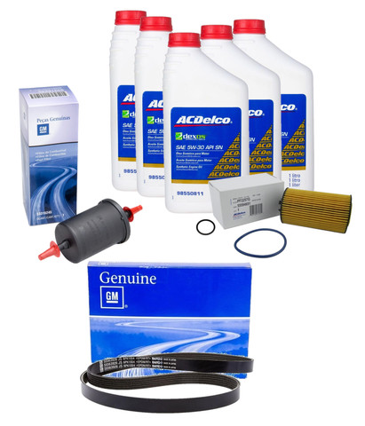 Kit Revisão 50 Mil Km Original Gm Original Gm 55563926