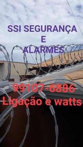 Cerca elétrica a partir de 899reais concertina 13reais o metrô já instalada  - Foto 4