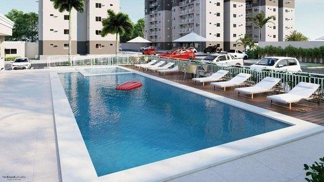 136 Condomínio Fit One. Apartamentos de 55m² no porcelanato na região do Turu - Foto 8