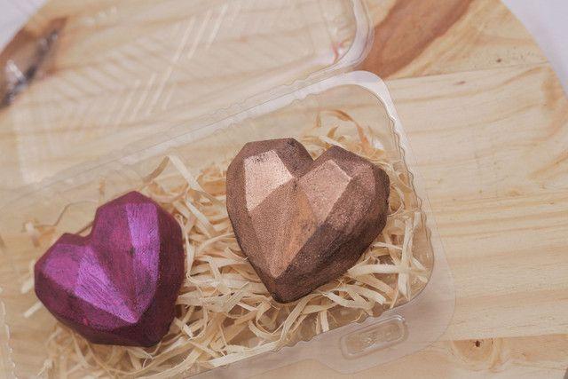 Corações de chocolate - Foto 5