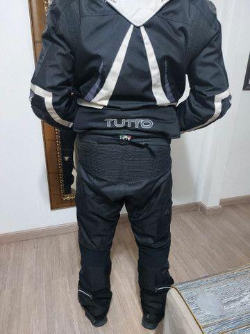 Jaqueta e calça  Motociclista DESCONTO 70 REAIS ATÉ  12 de maio 2021. - Foto 7