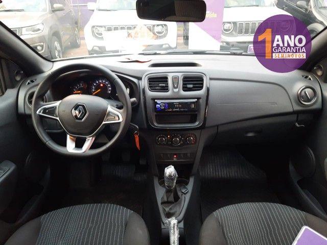 Renault Logan Life 1.0 12V SCe (Flex) - Foto 7