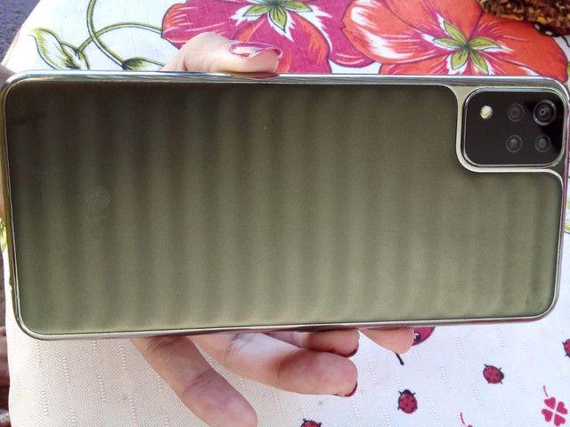 Celular LG K52 64gb 4de ram, desbloqueio digital na lateral cllr fininho ,tela grande top - Foto 4