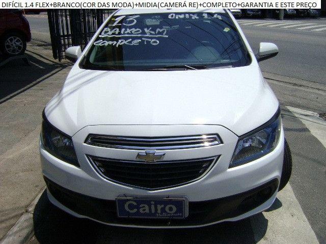 Chevrolet Onix 2013 1.4flex completo ar condicionado laudo aprovado baixa km - Foto 6