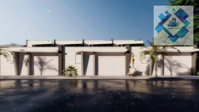 Casa com 4 dormitórios à venda, 137 m² por R$ 440.000,00 - Centro - Eusébio/CE - Foto 8