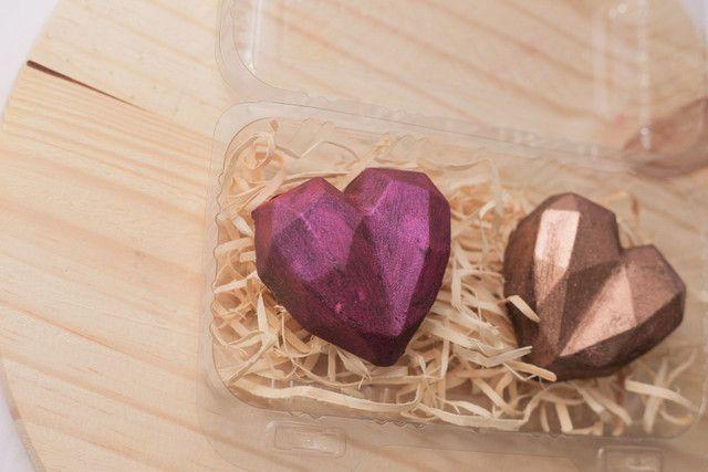 Corações de chocolate - Foto 4