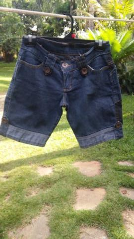Bermuda jeans new time tam 36