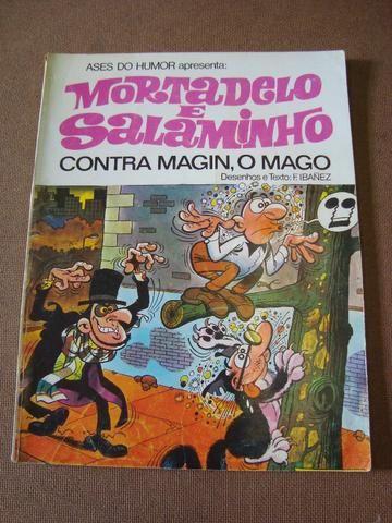 Gibi Mortadelo e Salaminho - Contra Magin, O Mago