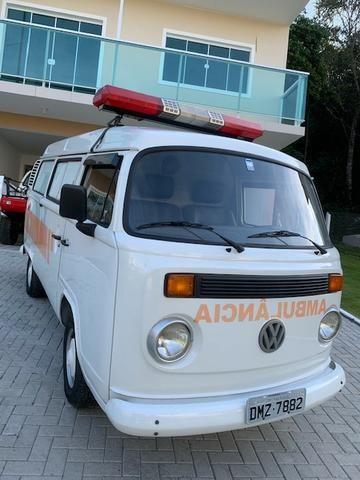 Kombi 2005 12.000km rodados Ambulancia Reliquia Raridade Unica - Foto 3