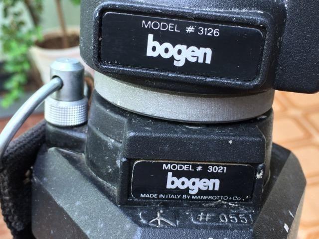 Tripé bogen para máquinas fotográficas e filmadoras - Foto 6