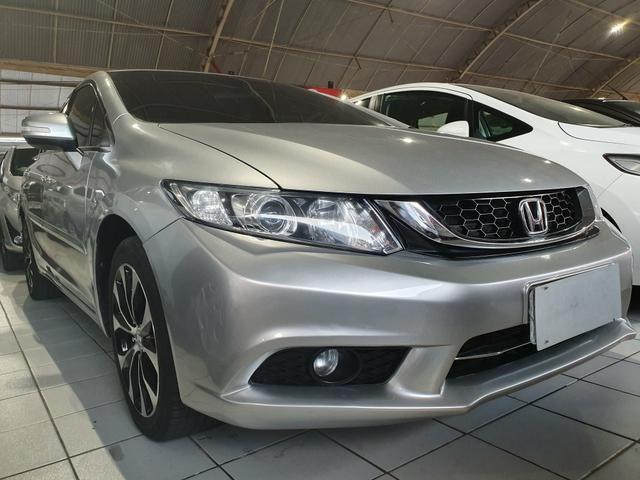 Honda civic 2015 lxr 2.0 automático extra top aceito troca - Foto 4