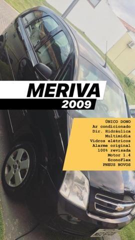 Meriva 2009 - 1.4 - Completa (com central multimídia) - Foto 4