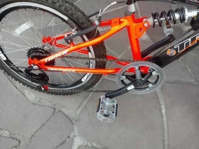 Bicicleta aro 20 com Suspensão ( Produto Semi Novo ) - Foto 4