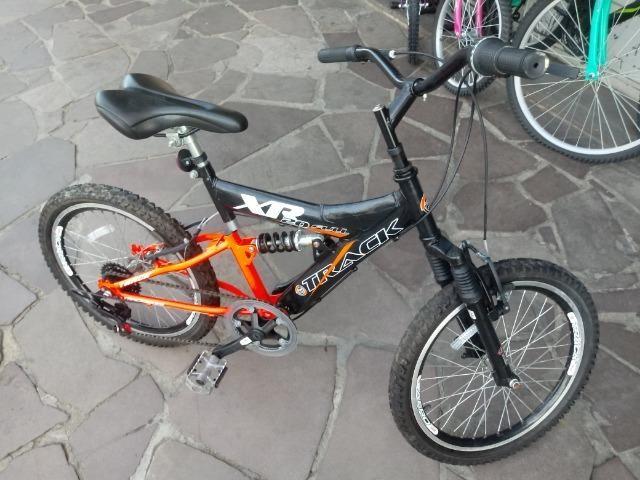 Bicicleta aro 20 com Suspensão ( Produto Semi Novo ) - Foto 3