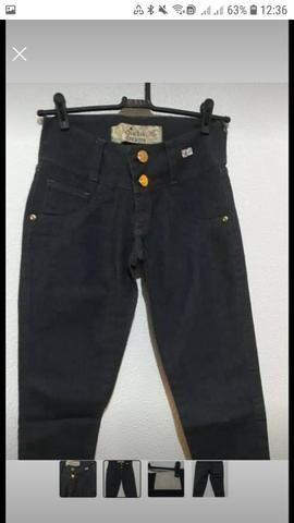 Calças jeans fabricadas pra Purpurina e Duda Dreans - Foto 4