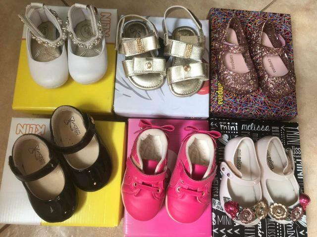 Lote sapatos Melissas Número 18 - Foto 2