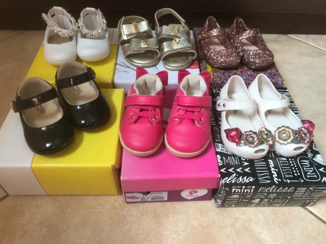 Lote sapatos Melissas Número 18