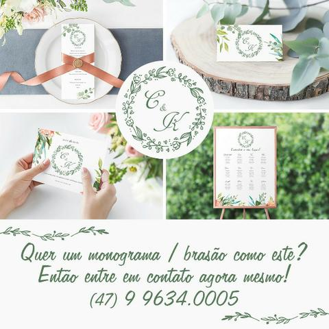 Monograma para Casamento, Batizado, Aniversário, Festas - Foto 5