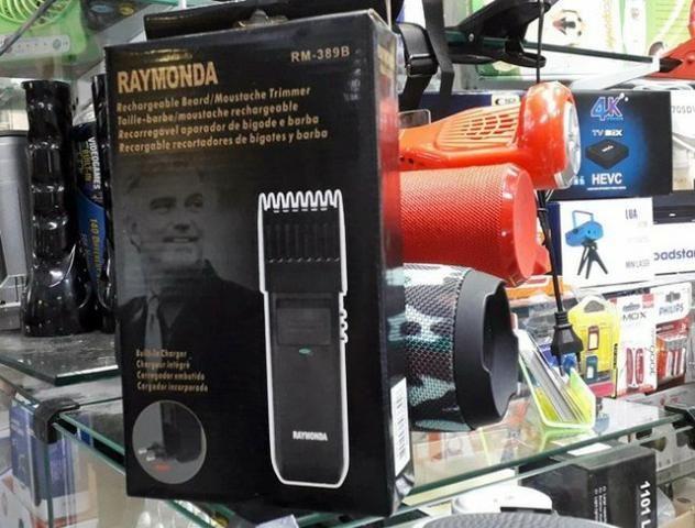 Máquina Para Corta Cabelo Fazer A Barba E Pezinho Raymonda - Foto 3