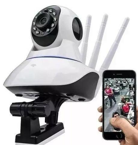 Câmera IP 3 Antenas Robozinho WIFI