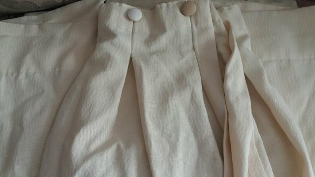 Cortina sala ou quardo excelente tecido grosso cor creme - Foto 2
