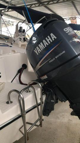 Fly Fish 190 2015 com Yamaha 90 4T - Foto 3