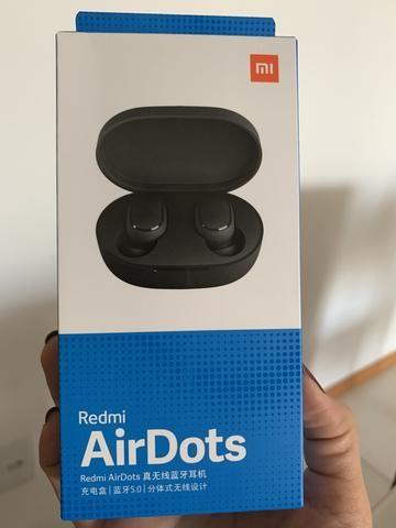 Fone Airdots Xiaomi original e lacrado